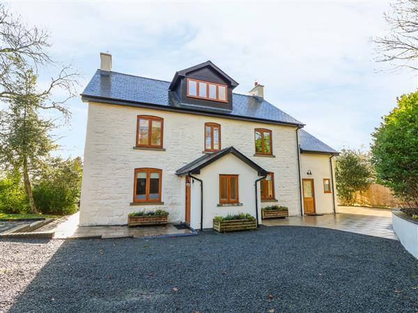 Oakwood House in Powys