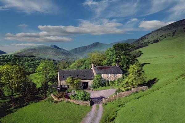Old Crofftau in Powys