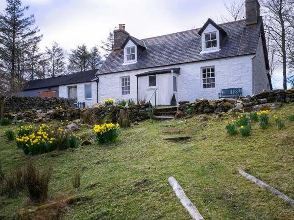 Old Grumbeg Cottage in Sutherland