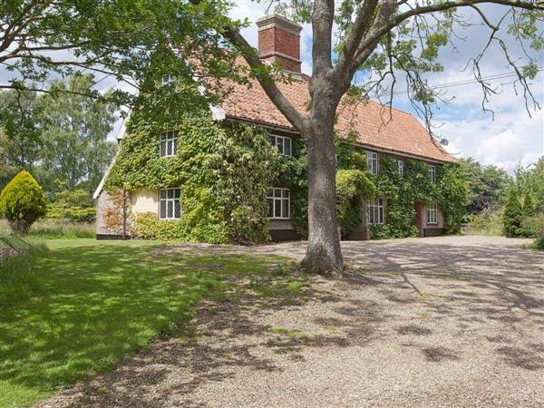 Old Hall Farmhouse in Norfolk
