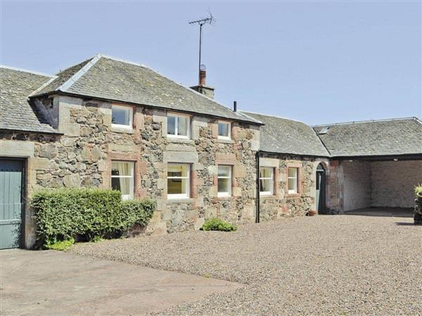Oldhamstocks Cottage in Berwickshire