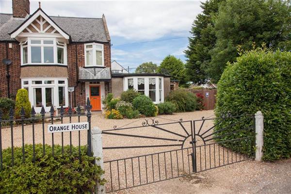 Orange House Studio from Norfolk Hideaways