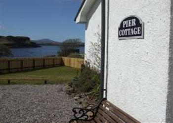 Pier Cottage in Isle Of Skye