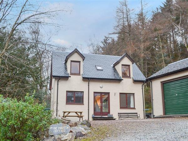 Pine Martin Cottage in Argyll