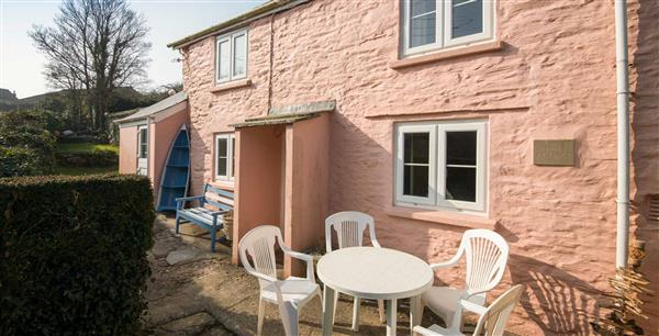 Pink Cottage in Cornwall