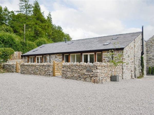 Plas Iwrwg - Cruck Barn in Gwynedd