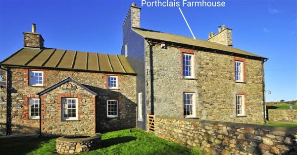 Porthclais Farmhouse,