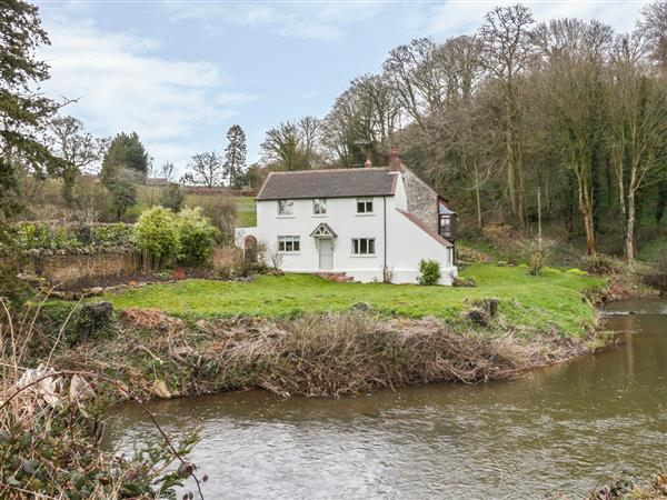 Prescott Mill Cottage in Shropshire