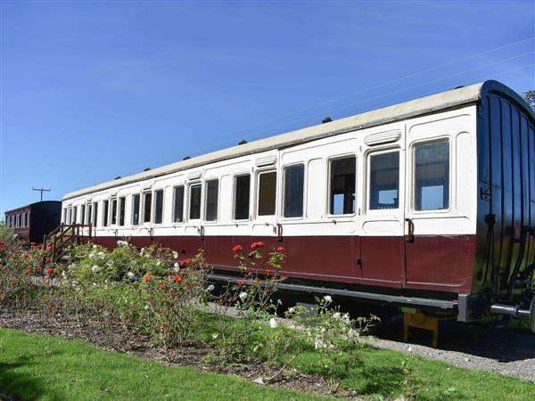 Railway Carriage Two in Suffolk