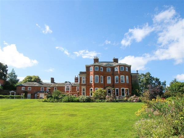 Raithby Hall in Raithby, near Horncastle, Lincolnshire