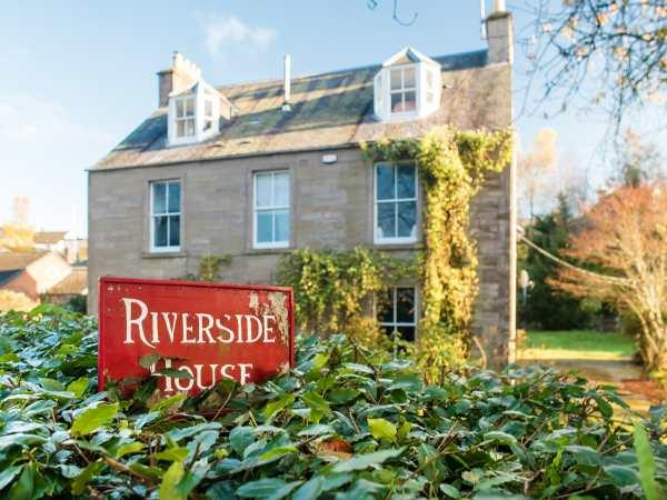 Riverside House in Perthshire