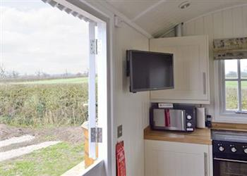 Rookery Cottages - The Rookery Shepherds Hut in Cheshire