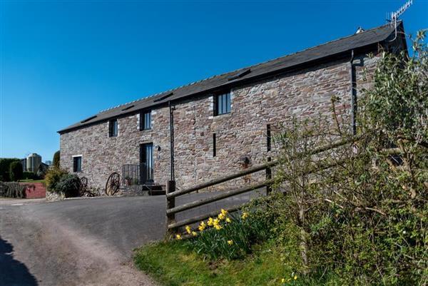 Rye Barn Llanilid in Crai, Powys