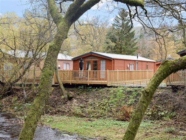 Scottish Riverside Lodge in Clackmannanshire
