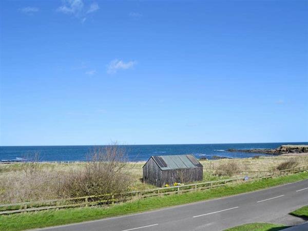Sea Huts in Northumberland