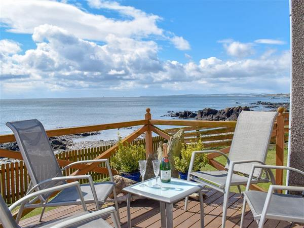 Seashore Retreat in Johnshaven, near Montrose, Aberdeenshire