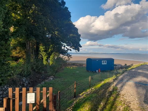 Seashore Shepherds Hut @ Moat Farm, Aldingham near Ulverston