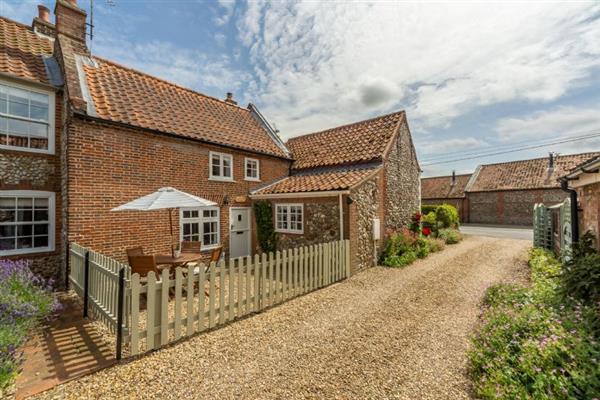 Sexton's Yard Cottage in Norfolk