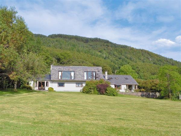 Sgurr Mor Lodge in Ross-Shire