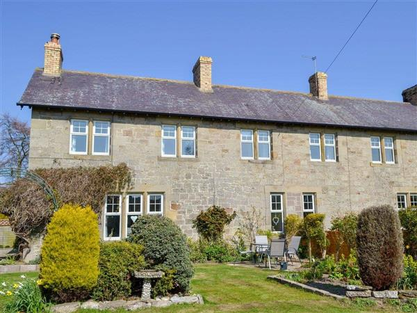 Sheilas Cottage in Christon bank, near Alnwick, Northumberland