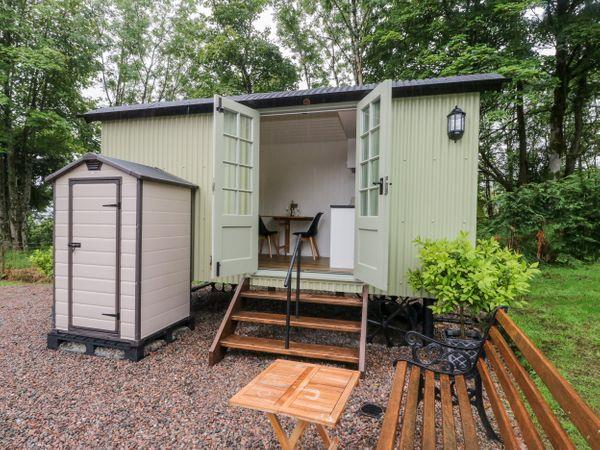 Shepherd's Hut from Sykes Holiday Cottages