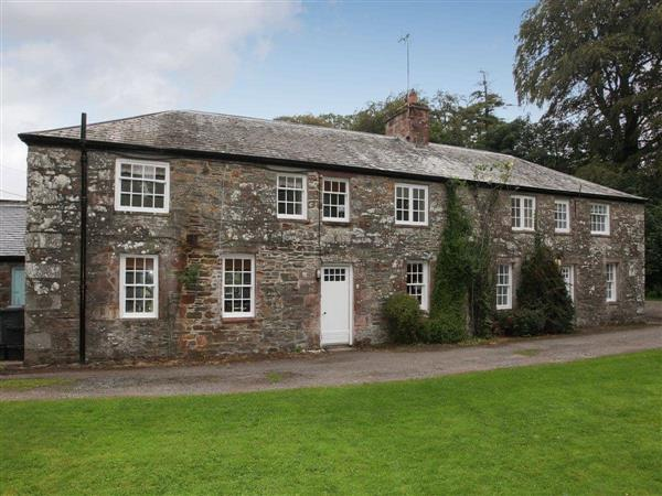 Shore Cottage in Wigtownshire