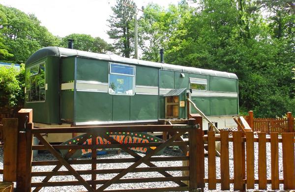 Showman's Wagon in Gwynedd