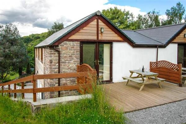 Skylark Lodge in Powys