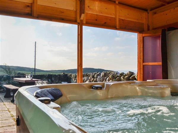 Slockmill Farmhouse in Wigtownshire