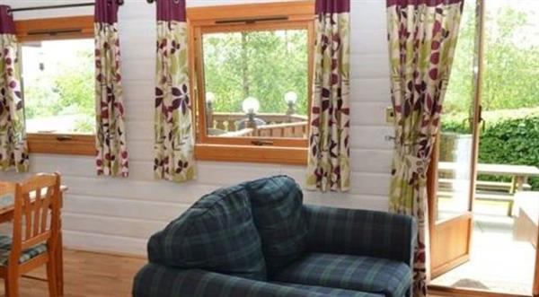 Snowy Owl Lodge in Powys