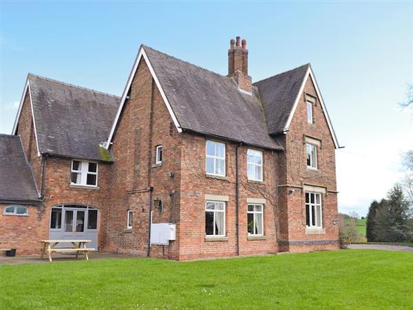Somersal Farmhouse in Derbyshire