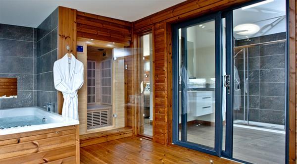 Spa Lodge in Cornwall
