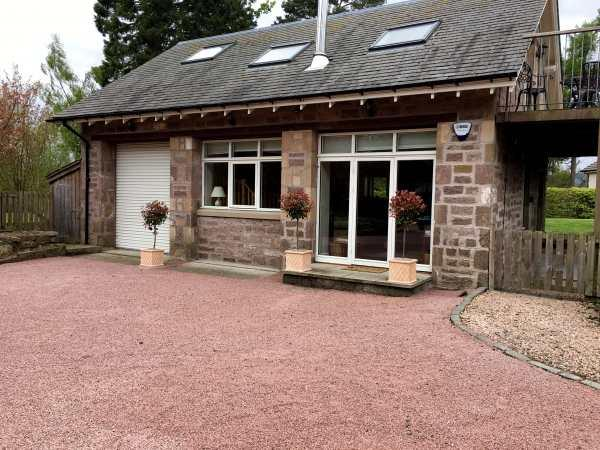 Stewarts Lodge Cottage in Perthshire