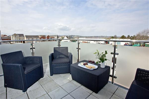 Sunnymead Penthouse in Exmouth, Devon