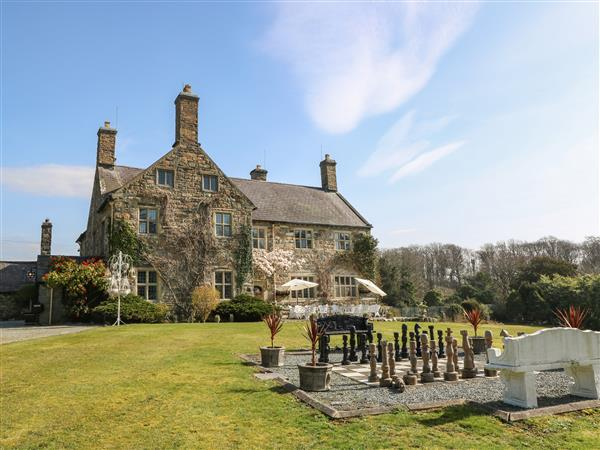 Talhenbont Hall from Sykes Holiday Cottages