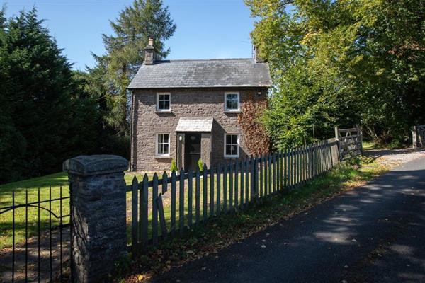 Talybryn Lodge in Talybont-on-Usk, Powys