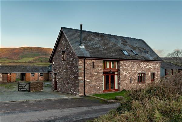 The Barn At Treberfydd in Bwlch, Powys