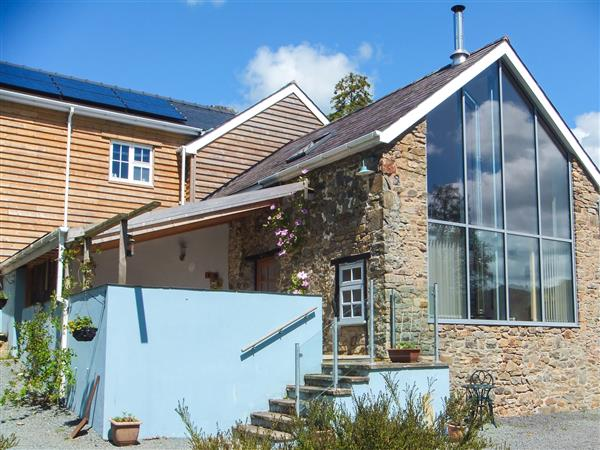 The Barn at Glanoer from Sykes Holiday Cottages
