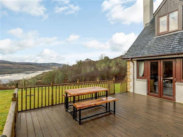 The Big Hoose, Linside, Sutherland with hot tub