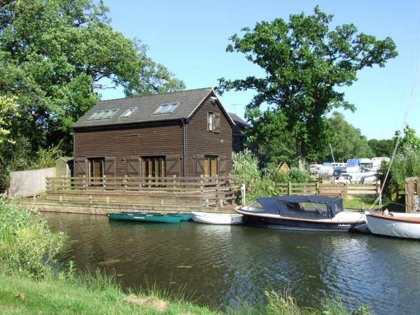 The Boathouse in Norfolk