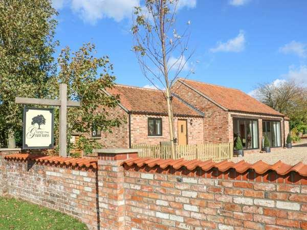 The Cottage at Grange Farm Barns in Lincolnshire