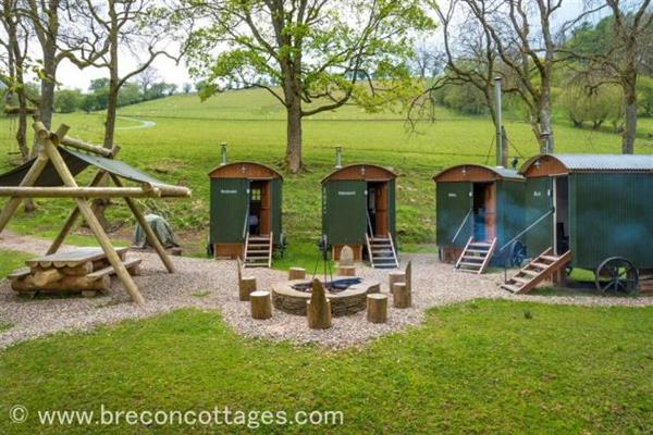 The Huts In The Hills in Powys
