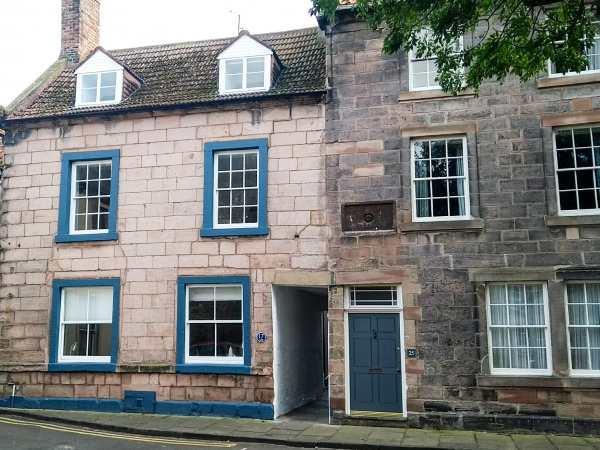 The Indigo House in Northumberland