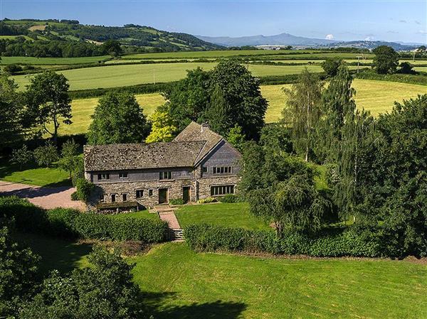 The Lake House in Llanigon, Powys