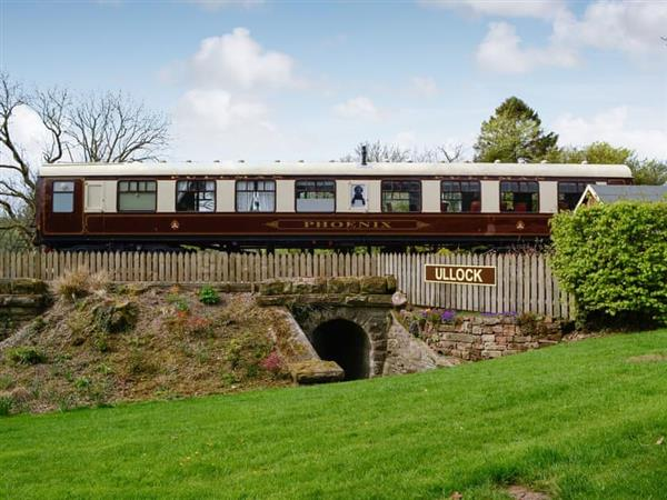 The Railway Carriage in Ullock, near Cockermouth, Cumbria