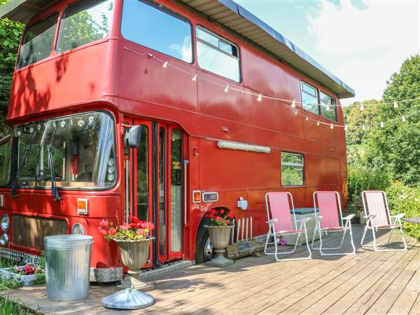 The Red Bus! in Gloucestershire