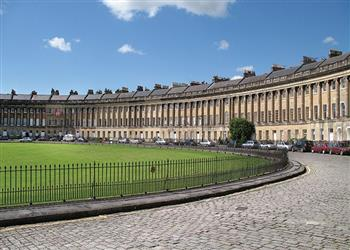 The Royal Crescent Garden Apartment in Avon