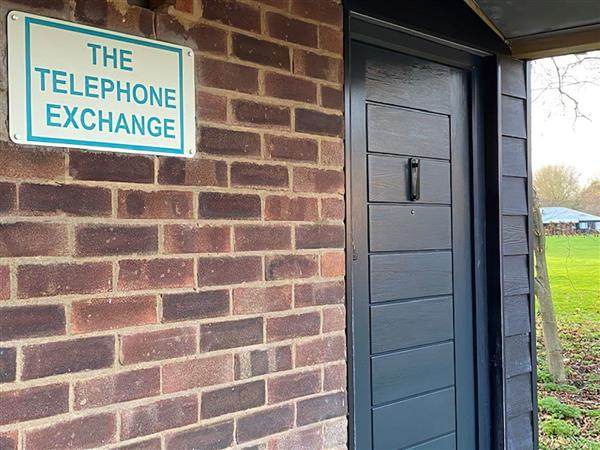The Telephone Exchange in Wiltshire