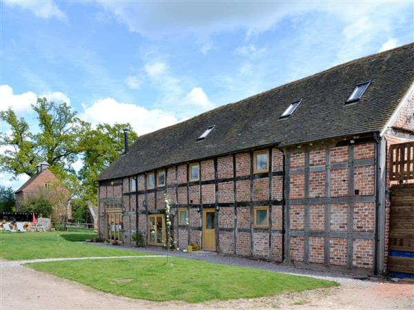 The West Barn in Worcestershire