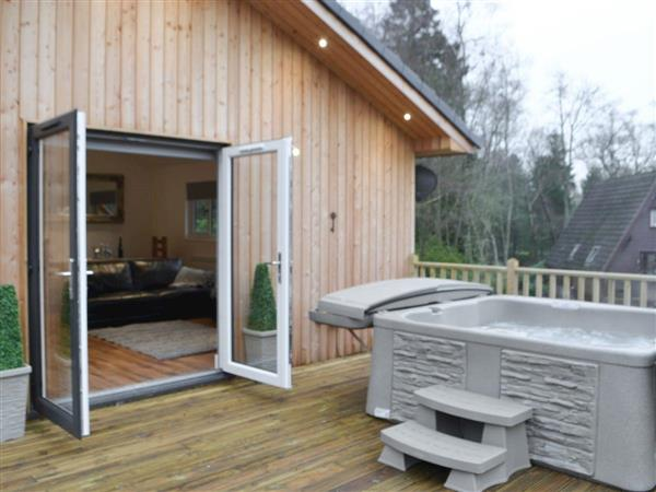 The Woodside Lodge in Northumberland